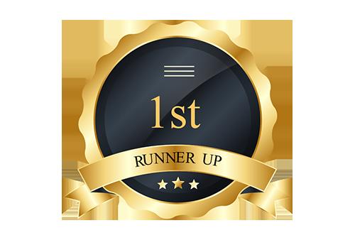 1st RUNNER UP