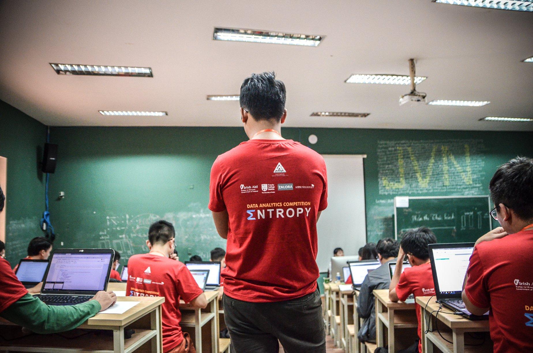 Cuộc thi Entropy- Khóa học Python